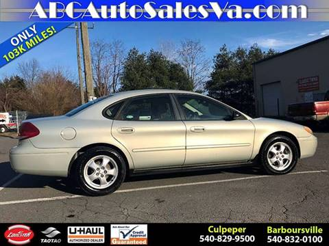 2004 Ford Taurus for sale in Culpeper, VA
