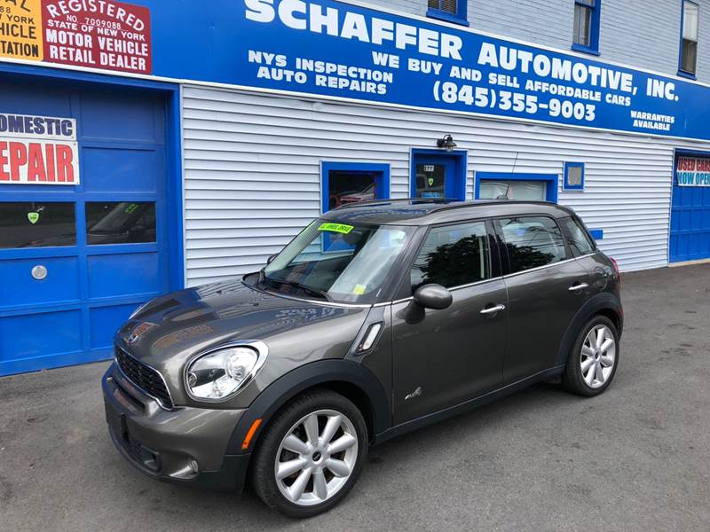 2013 Mini Countryman Awd Cooper S All4 4dr Crossover In Slate Hill