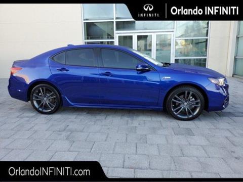 2019 Acura TLX for sale in Orlando, FL