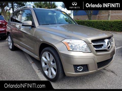 Mercedes Benz Orlando >> 2010 Mercedes Benz Glk For Sale In Orlando Fl