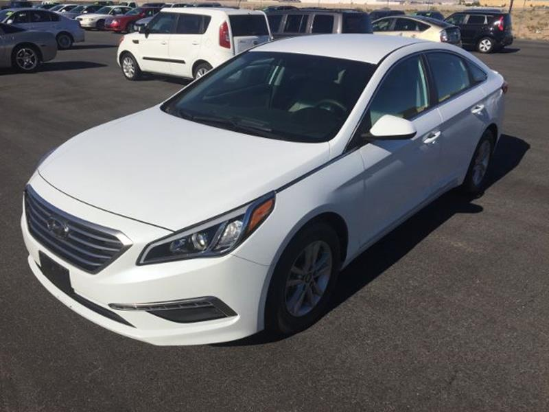 hyundai sonata 2015 se white. 2015 hyundai sonata for sale at carphabet in las vegas nv se white