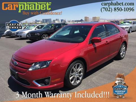 2012 Ford Fusion for sale in Las Vegas, NV