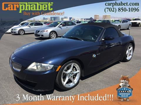 BMW Z4 For Sale  Carsforsalecom