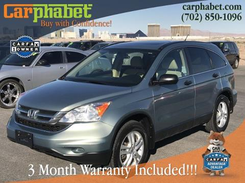 2010 Honda CR-V for sale in Las Vegas, NV