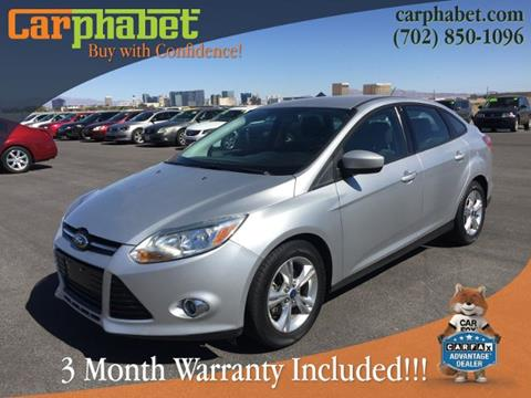 2012 Ford Focus for sale in Las Vegas, NV