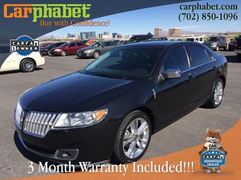 2010 Lincoln MKZ for sale in Las Vegas, NV