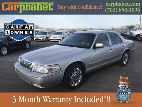 2009 Mercury Grand Marquis for sale in Las Vegas, NV