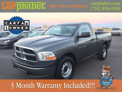2011 RAM Ram Pickup 1500 for sale in Las Vegas, NV