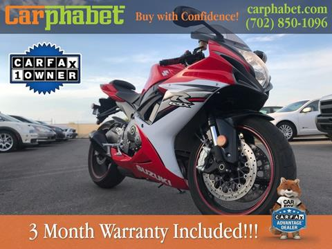 2013 Suzuki GSX-R600 for sale in Las Vegas, NV