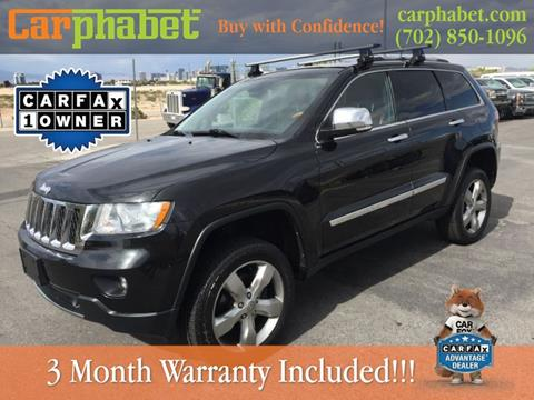 2012 Jeep Grand Cherokee for sale in Las Vegas, NV