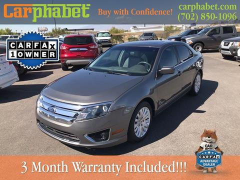 2010 Ford Fusion Hybrid for sale in Las Vegas, NV