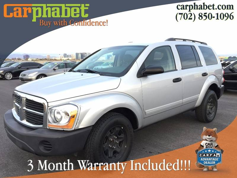 2004 DODGE DURANGO ST 4DR SUV silver check out our low mileage 2004 dodge durango presented in be