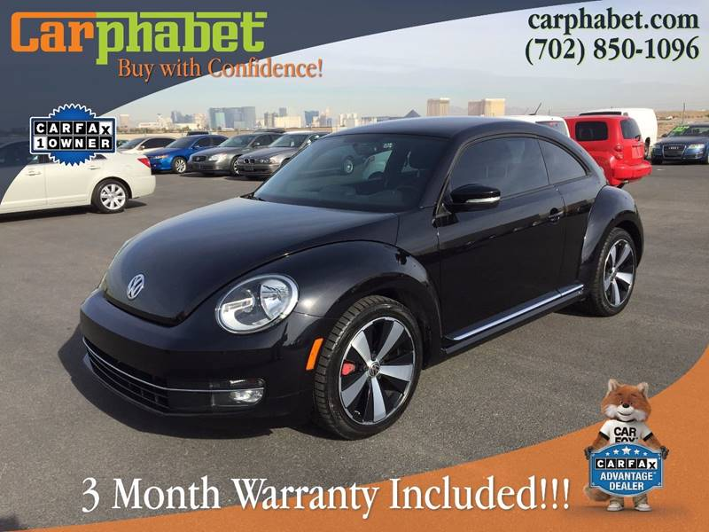 2012 VOLKSWAGEN BEETLE TURBO PZEV 2DR HATCHBACK 6M black you are looking at a gorgeous one owner 2