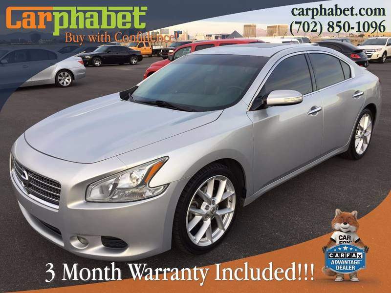 2009 NISSAN MAXIMA 35 SV 4DR SEDAN silver check out or beautiful and fully loaded 2009 nissan ma