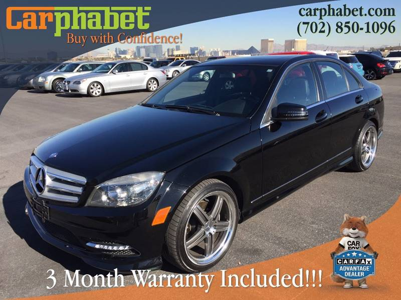 2011 MERCEDES-BENZ C-CLASS C300 SPORT 4DR SEDAN black you are looking at very well maintained 201