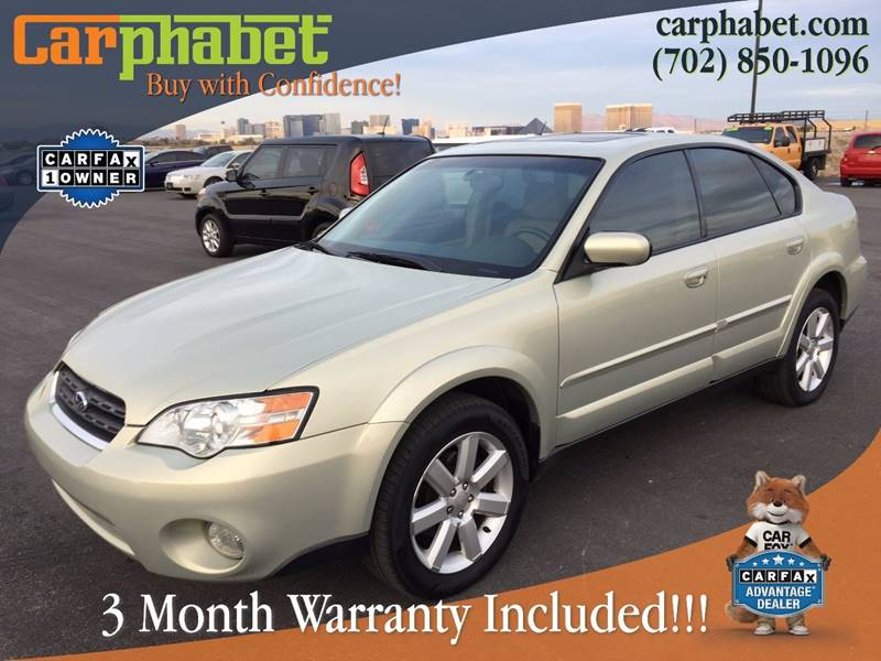 2006 SUBARU OUTBACK 25I LIMITED AWD 4DR SEDAN 25L champagne we are offering stunning one owner