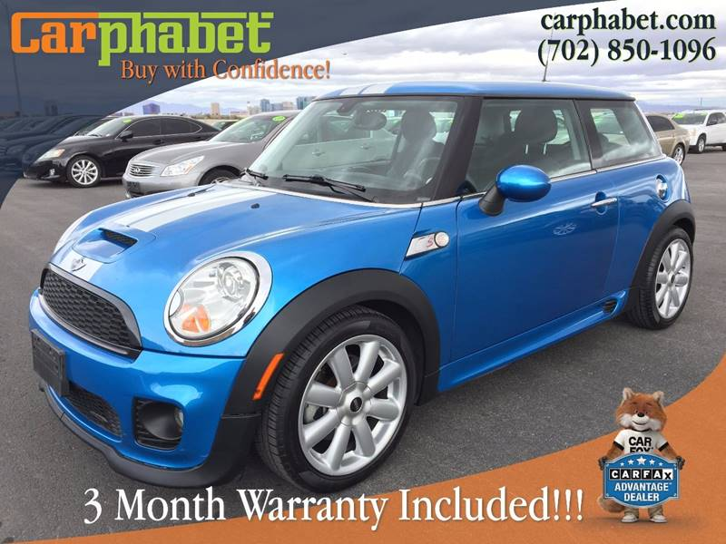 2008 MINI COOPER S 2DR HATCHBACK black white stripes you are looking at 2008 mini cooper s in jo