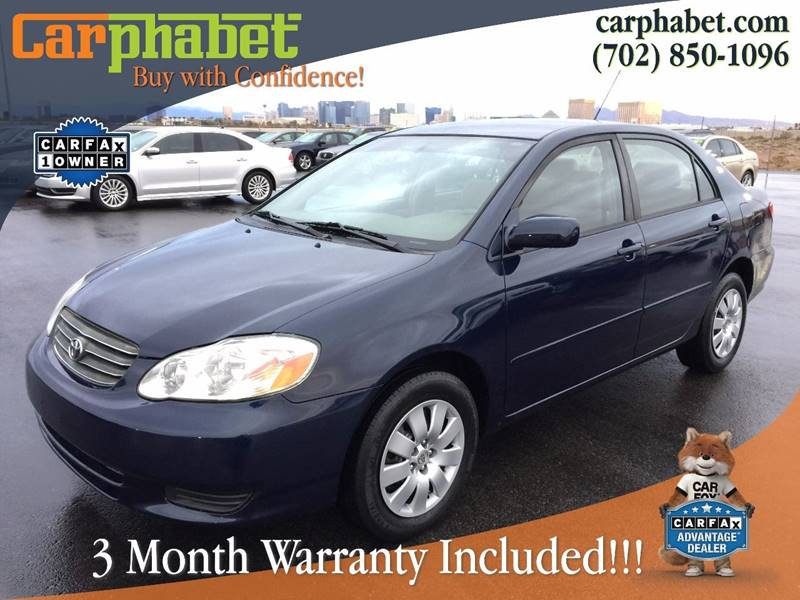 2004 TOYOTA COROLLA LE 4DR SEDAN blue you are looking at one owner and elegant 2004 toyota coroll