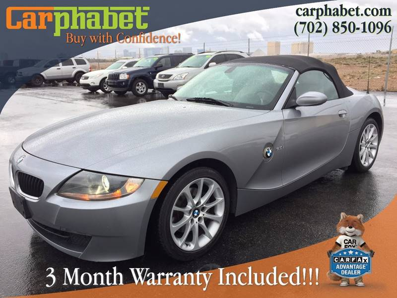 2006 BMW Z4 30I 2DR CONVERTIBLE gray you are looking at 2006 bmw z4 roadster 30 i presented in