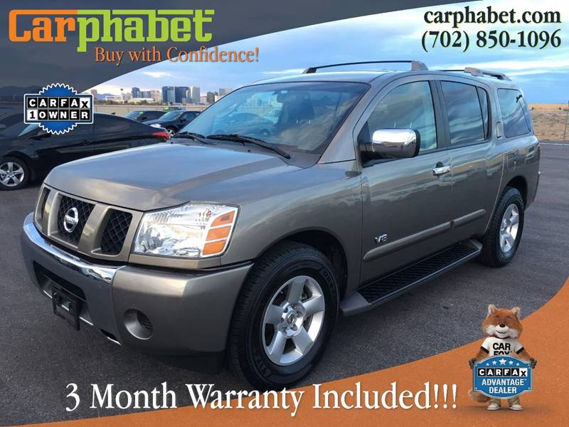 2006 NISSAN ARMADA SE 4DR SUV tan you are looking at one owner and elegant 2006 nissan armada pre