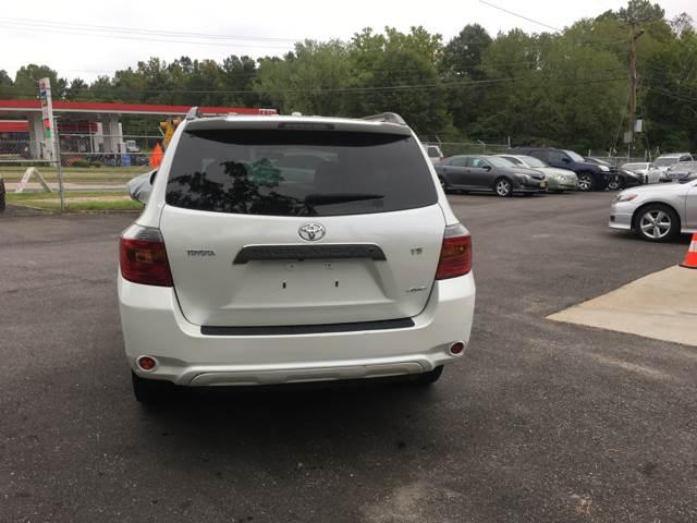 2009 Toyota Highlander AWD Sport 4dr SUV - Richmond VA