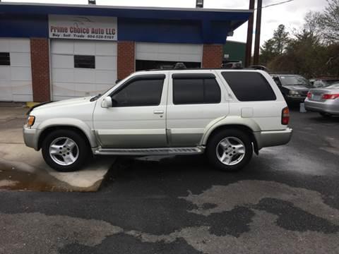 2001 Infiniti QX4 for sale in Richmond, VA