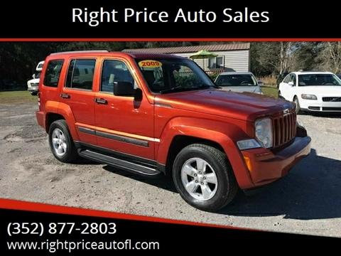 2009 Jeep Liberty for sale in Waldo, FL