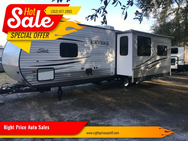 2015 Shasta Revere travel trailer In Waldo FL - Right Price Auto Sales