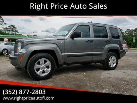 2012 Jeep Liberty for sale in Waldo, FL