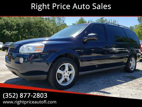 2005 Chevrolet Uplander for sale in Waldo, FL