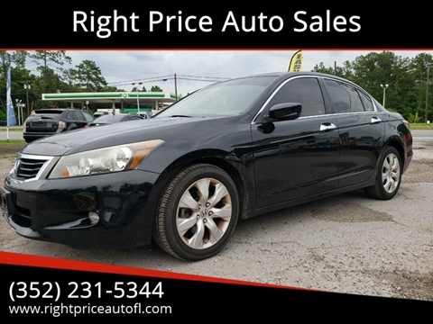 2008 Honda Accord for sale in Waldo, FL
