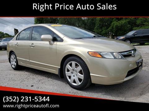 2007 Honda Civic for sale in Waldo, FL