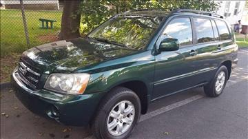 2003 Toyota Highlander for sale in Hudson, MA