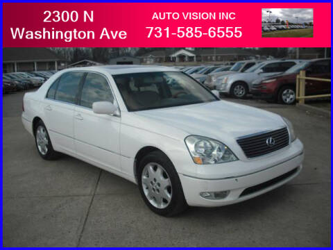 2003 Lexus LS 430 for sale at Auto Vision Inc. in Brownsville TN