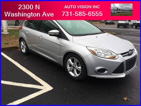 2014 Ford Focus for sale at Auto Vision Inc. in Brownsville TN