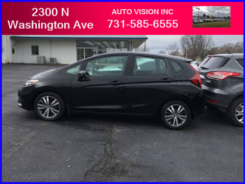 2015 Honda Fit for sale at Auto Vision Inc. in Brownsville TN