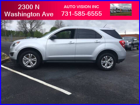 2016 Chevrolet Equinox for sale at Auto Vision Inc. in Brownsville TN