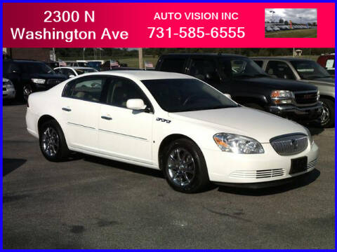 2008 Buick Lucerne for sale at Auto Vision Inc. in Brownsville TN