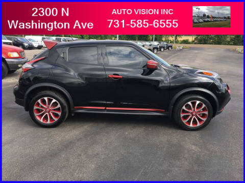 2015 Nissan JUKE for sale at Auto Vision Inc. in Brownsville TN