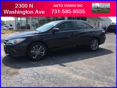 2017 Toyota Camry for sale at Auto Vision Inc. in Brownsville TN