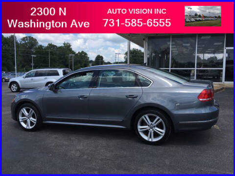 2014 Volkswagen Passat for sale at Auto Vision Inc. in Brownsville TN
