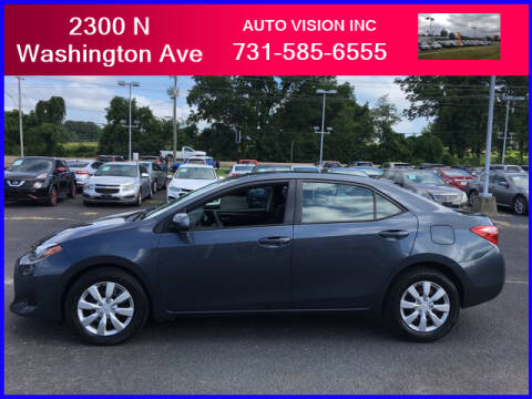 2017 Toyota Corolla for sale at Auto Vision Inc. in Brownsville TN