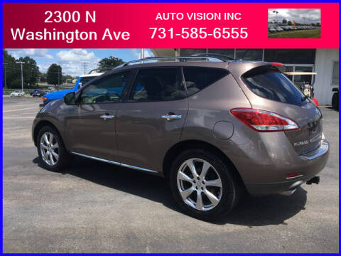 2014 Nissan Murano for sale at Auto Vision Inc. in Brownsville TN