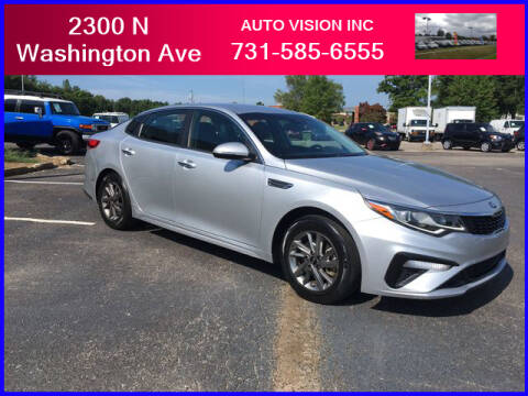 2019 Kia Optima for sale at Auto Vision Inc. in Brownsville TN