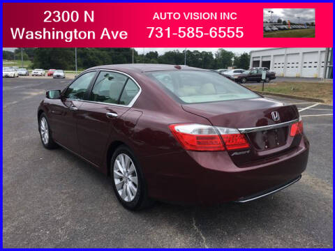 2014 Honda Accord for sale at Auto Vision Inc. in Brownsville TN
