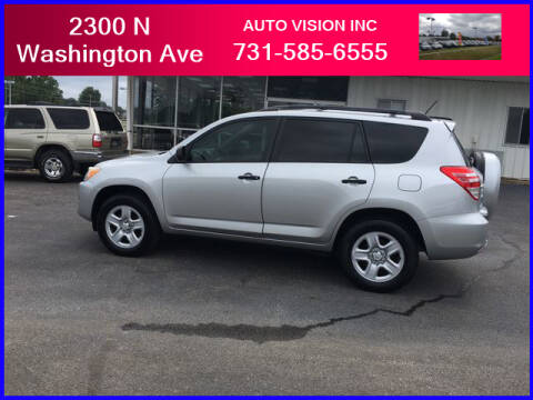 2011 Toyota RAV4 for sale at Auto Vision Inc. in Brownsville TN