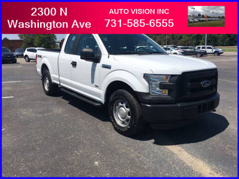 2016 Ford F-150 for sale at Auto Vision Inc. in Brownsville TN