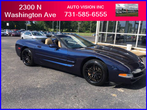 2001 Chevrolet Corvette for sale at Auto Vision Inc. in Brownsville TN