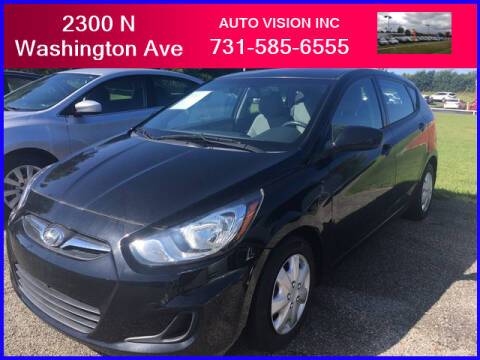2013 Hyundai Accent for sale at Auto Vision Inc. in Brownsville TN
