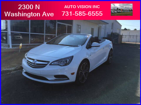 2017 Buick Cascada for sale at Auto Vision Inc. in Brownsville TN